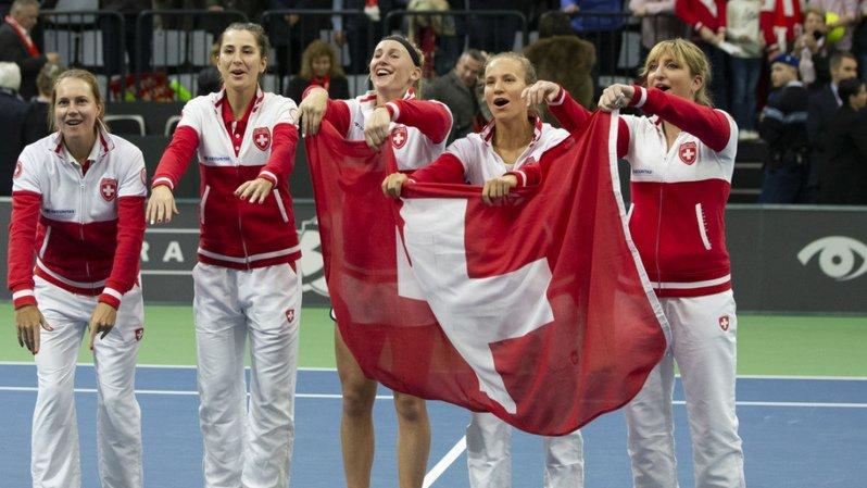 Tennis – Fed Cup: la Suisse contre la République tchèque et l'Allemagne