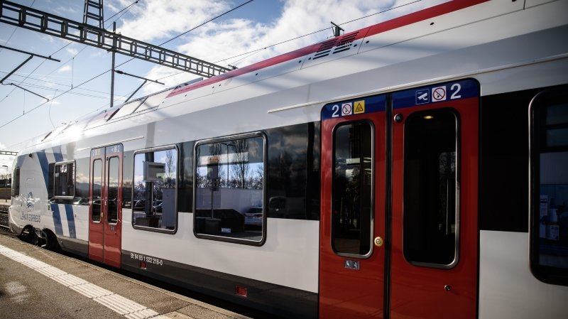 Le Léman Express a été lancé le 15 décembre.
