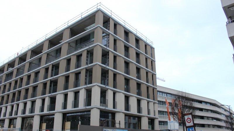 Les premiers locataires du quartier des Halles sont attendus le mois prochain.