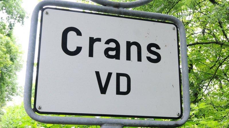 une étape de plus franchie dans le changement de nom de la commune de Crans-près-Céligny.