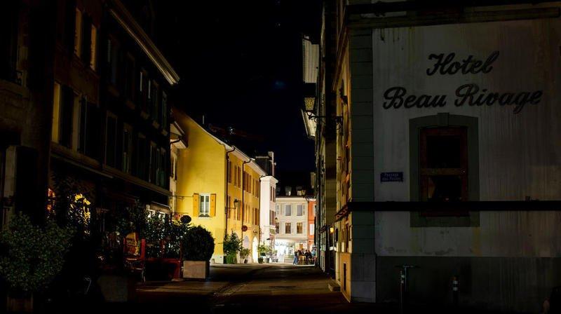 A Nyon, l'initiative de la Nuit est Belle a permis l'extinction des lumières l'espace d'une soirée.