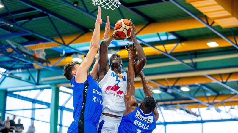 Le BBC Nyon prend une claque chez Fribourg Olympic