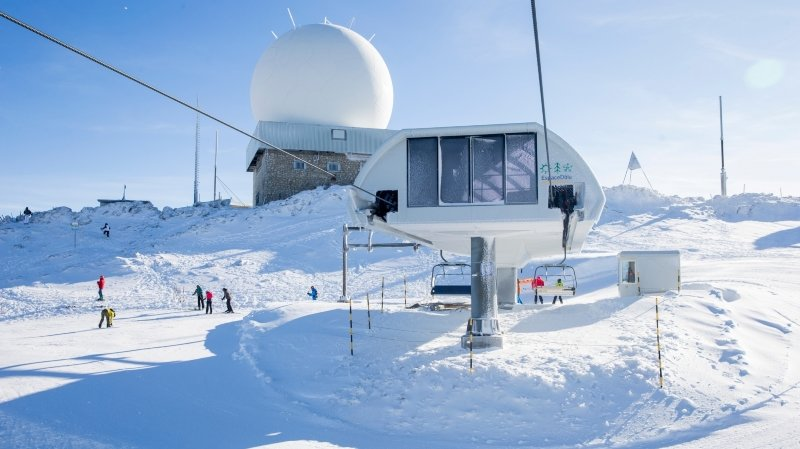 On pourra skier à la Dôle pendant les vacances