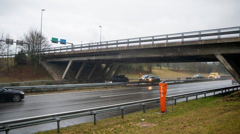 Gland: le pont de la jonction autoroutière sera réparé cette nuit