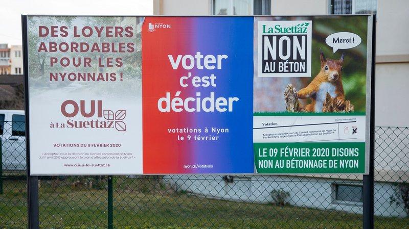 Nyon: le référendum de la Suettaz en 5 questions