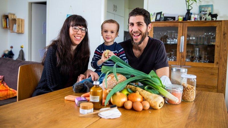 Un mois sans supermarché, le défi de cette famille de Mont-sur-Rolle