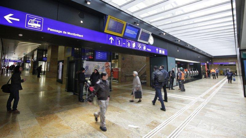 Genève: un couple arrêté pour vol à la gare