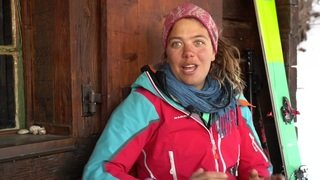 L'aventurière Caro North en expédition en Antarctique