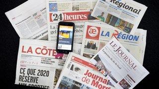 Vaud: les 4 mesures du canton pour aider la presse