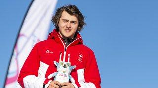 JOJ 2020: Valerio Jud apporte une nouvelle médaille d'or à la Suisse en snowboard