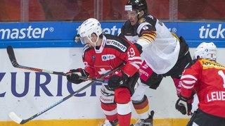 Hockey: la Suisse bat à nouveau l'Allemagne aux Prospect Games