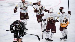 Hockey: Genève valide son ticket pour les play-offs, Bienne et Lausanne s'y rapprochent, pas Fribourg
