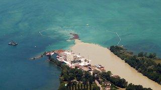 Valais: une pollution aux hydrocarbures dans l'embouchure du Rhône