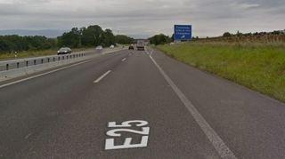 A1: voie d'urgence activée entre Cossonay et Villars-Sainte-Croix