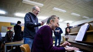 Nyon: une chorale pour lancer le café communautaire