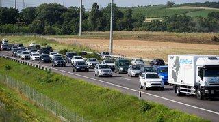 Et si on utilisait la bande d'arrêt d'urgence entre Nyon et Genève?