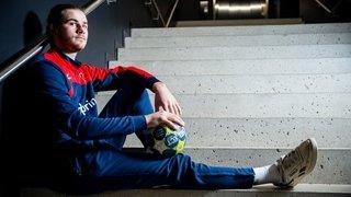 Pépite du handball nyonnais, Léo Poret peut viser haut
