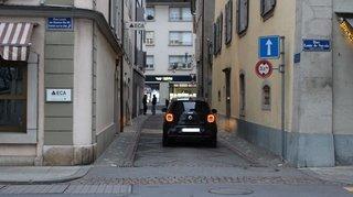 Morges: pas de trottoir, mais moins de gaz
