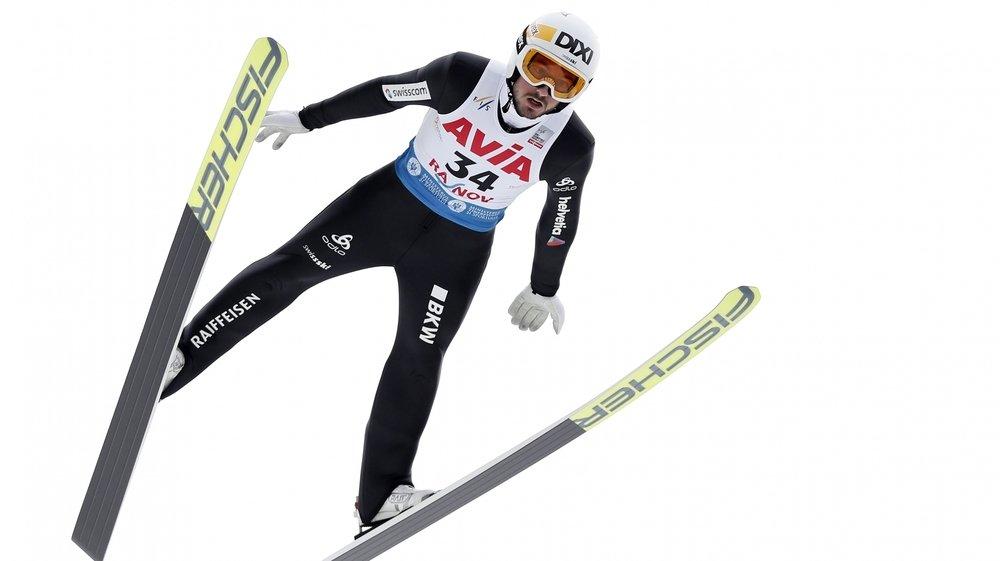 Il ne manque plus qu'un peu de confiance à Killian Peier, ici à Rasnov, en Roumanie le 21 février dernier, pour retrouver les hauts du classement.