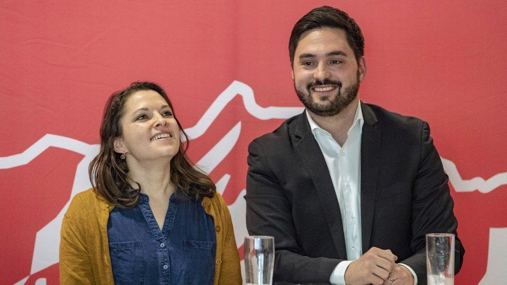 Mattea Meyer et Cédric Wermuth ont effectué leurs gammes à la Jeunesse socialiste suisse (JSS).