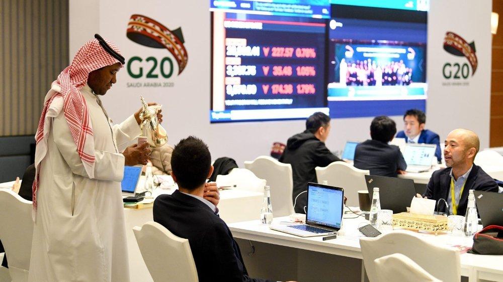 Le communiqué publié dimanche à l'issue du G20, à Riyad, sous présidence saoudienne, mentionne  le mot climat. Il s'agit d'une première.