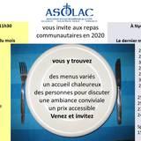 Repas communautaires ASOLAC
