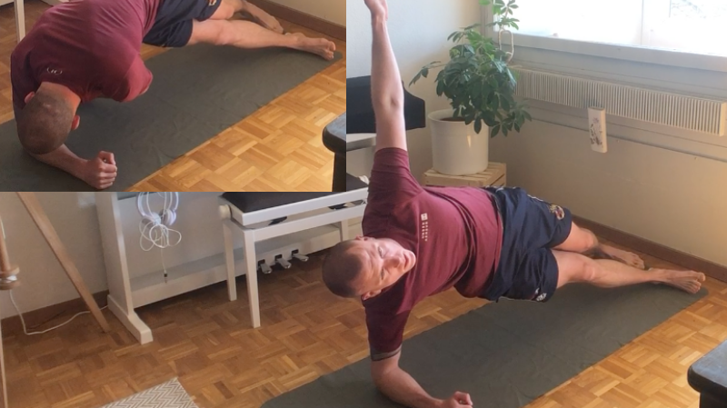 Deuxième série d'exercices pour garder la forme en restant à la maison