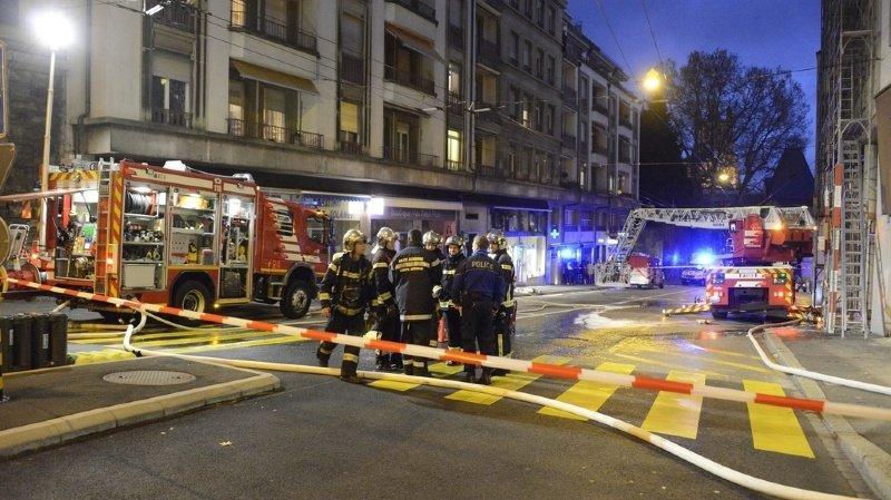 Renens: incendie au dernier étage d'un immeuble locatif
