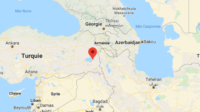 Turquie: huit personnes décédées après un séisme de magnitude 5,7