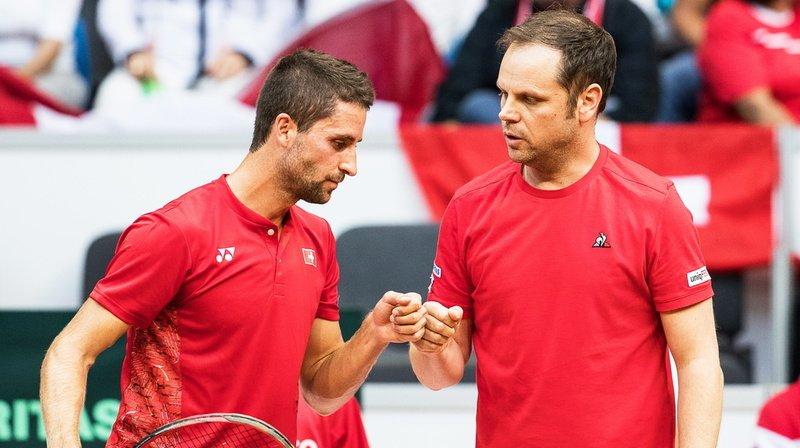 Tennis - Coupe Davis: la Suisse accueillera l'Estonie en septembre