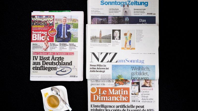 Revue de presse: l'hygiène des restaurants, un «sommet de la concordance», la station de Gstaad… les titres de ce dimanche