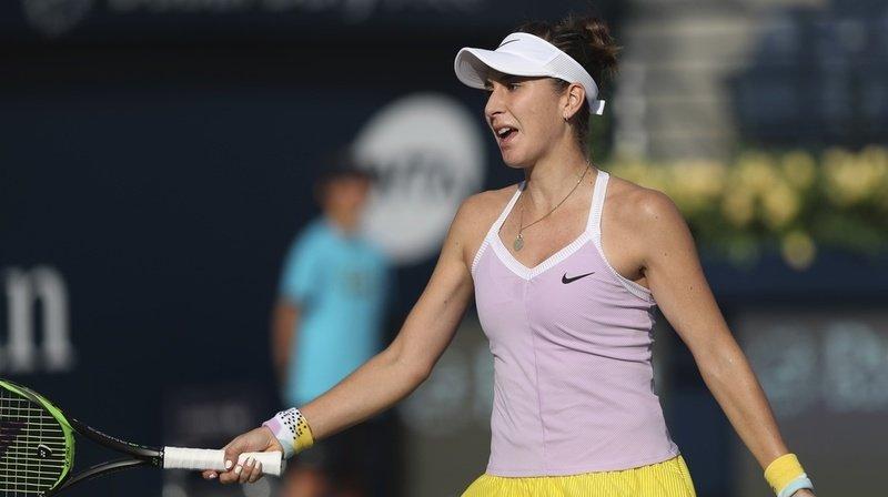 Belinda Bencic a été éliminée dès le premier tour à Dubaï.