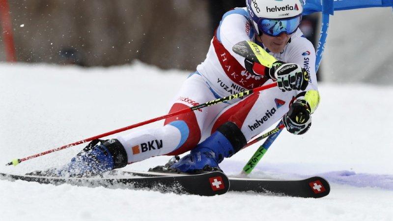 Ski alpin: Marco Odermatt termine deuxième du géant de Yuzawa Naeba