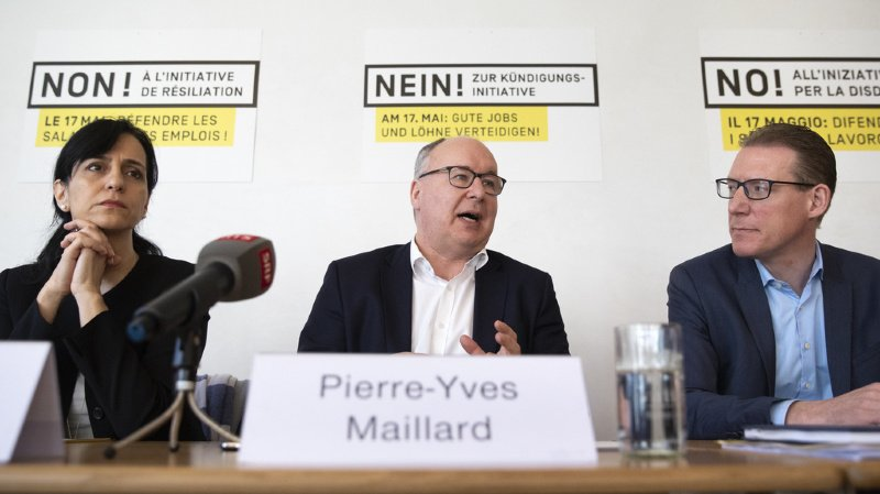 Votation du 17 mai: les syndicats rejettent l'initiative contre la libre-circulation de l'UDC