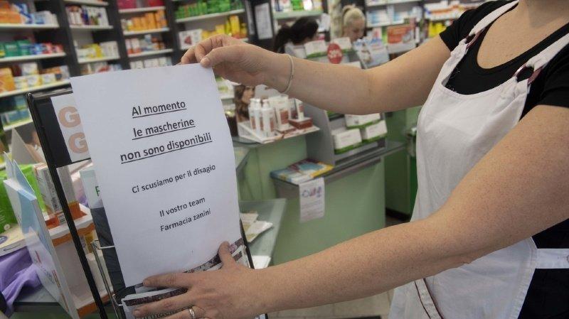 Coronavirus: un premier cas de contamination au Tessin
