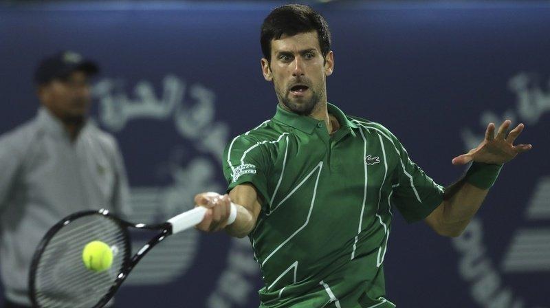 Tennis-Tournoi de Dubaï: Djokovic passe in extremis en finale
