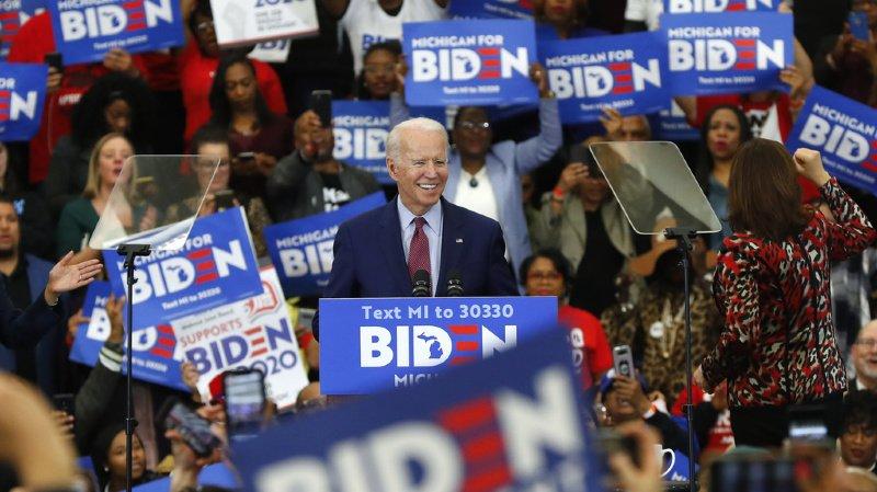 Présidentielle américaine: Joe Biden prend une avance confortable sur Bernie Sanders