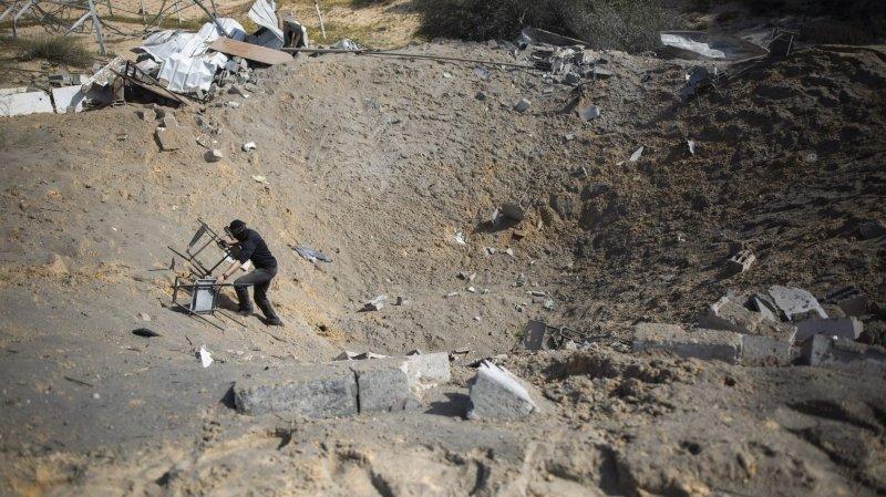 Djihad islamique frappé à Gaza et en Syrie