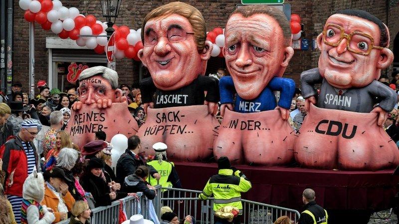 Trois candidats pour redresser la CDU d'Angela Merkel