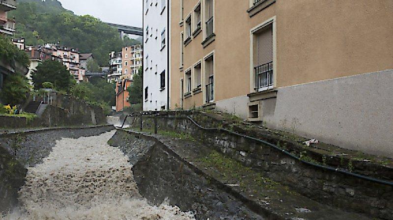 Montreux: chute mortelle dans une rivière