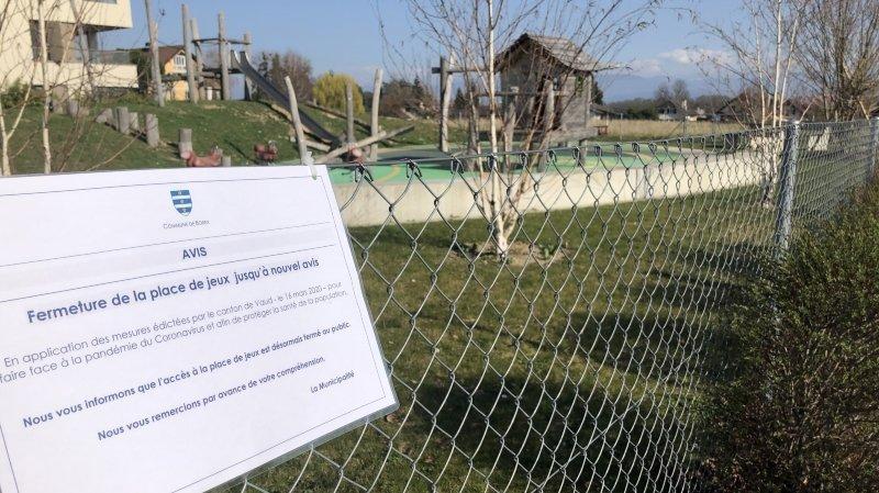 Pourquoi certaines communes ferment leurs places de jeux