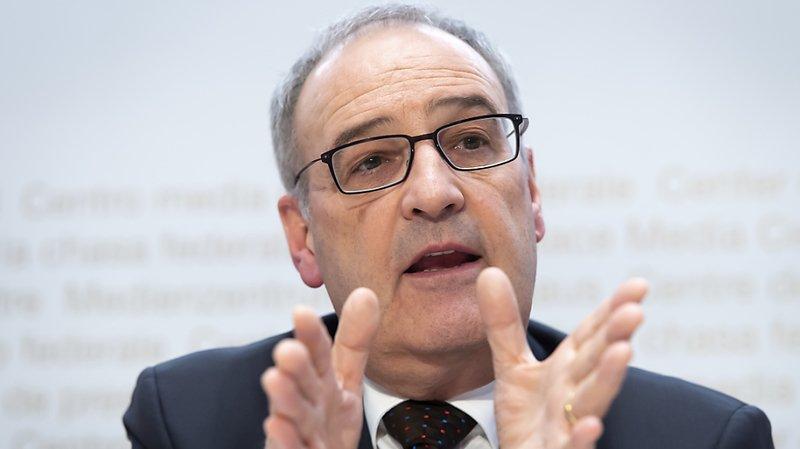 Après le message sur la politique agricole 2022, le ministre de l'économie Guy Parmelin s'attaque désormais à un autre grand dossier de son département, l'encouragement de la formation, de la recherche et de l'innovation (archives).