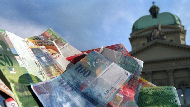 La Confédération a achevé l'année 2019 avec beaucoup plus d'argent dans les caisses que prévu (archives).