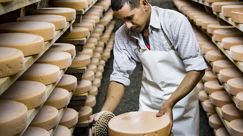 Alimentation: les Suisses mangent toujours plus de fromage, 189'310 tonnes en 2019