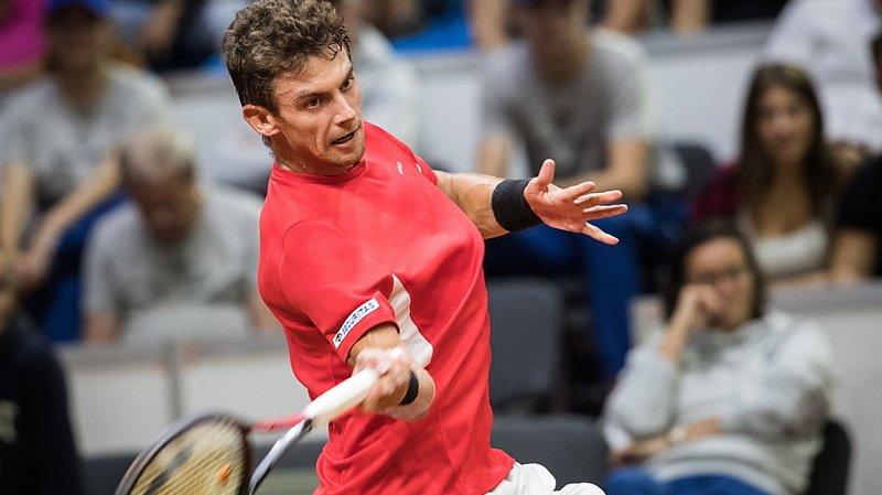 Tennis – CoupeDavis: à Lima, Henri Laaksonen égalise 1-1 pour la Suisse