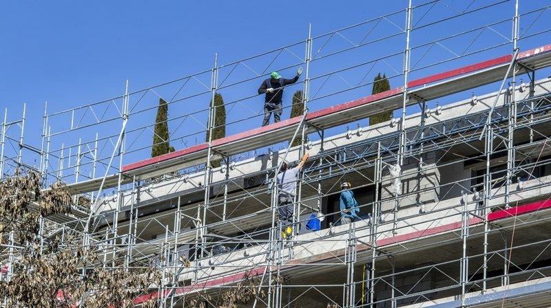 Les chantiers restent en activités malgré la pandémie.