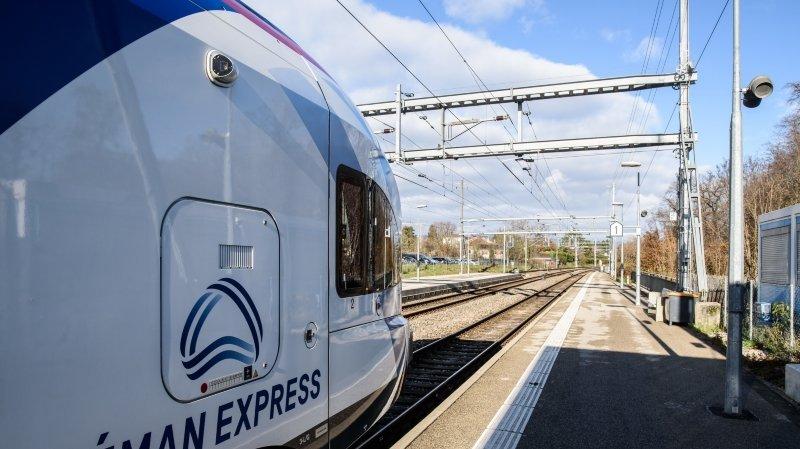 Léman Express: reprise du trafic entre la France et la Suisse