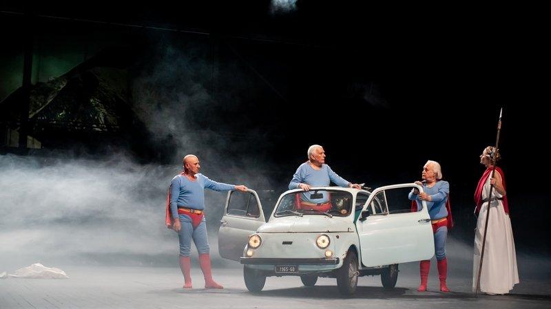 A Morges, les superpapys italiens débarquent en Fiat 500