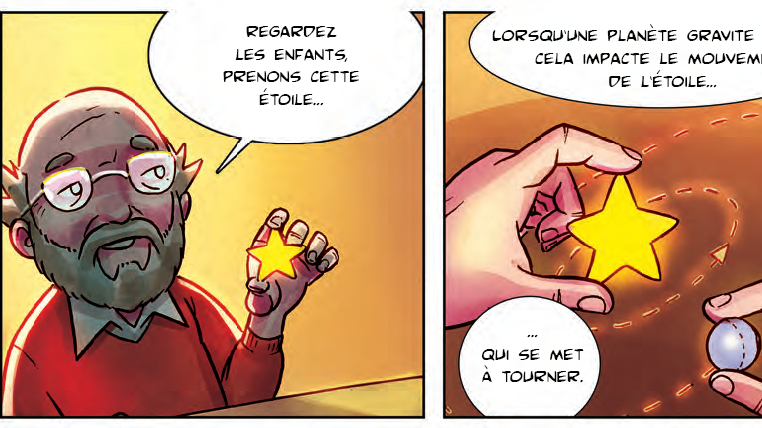 Michel Mayor, héros d'un jeu vidéo et d'une bande dessinée