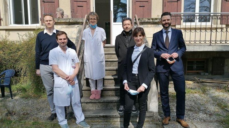 L'ancien hôpital de Morges reprend du service face au coronavirus